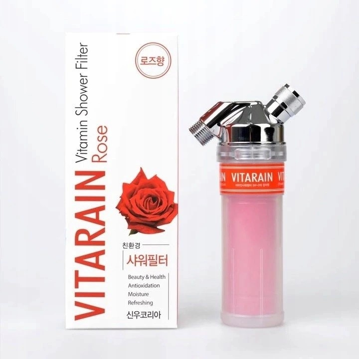 VITARAIN SW-19 RÓŻA - WITAMINOWY FILTR PRYSZNICOWY